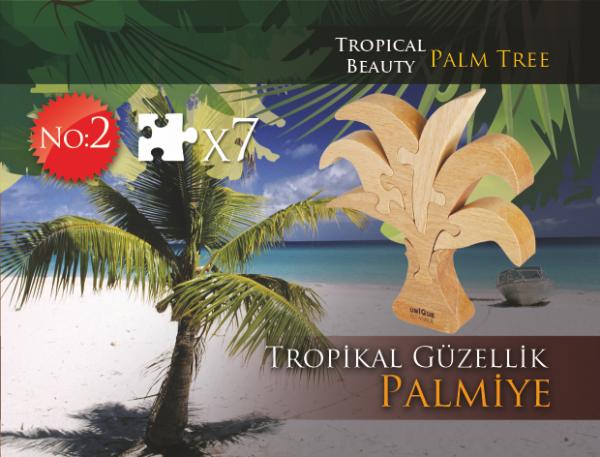 Tropikal Güzellik Palmiye