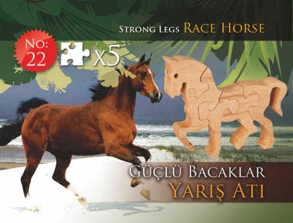 Güçlü Bacaklar Yarış Atı